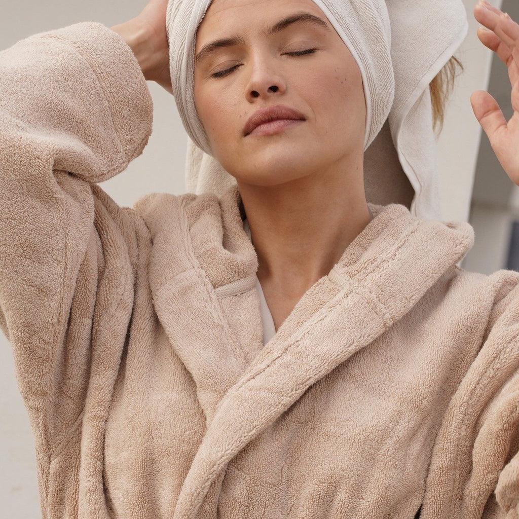 Mummy Bathrobe Strands Havet - Moon Beam