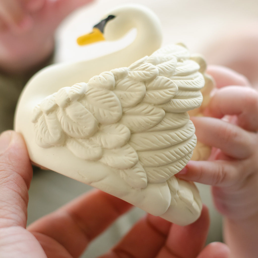 Swan Bath Toy - White