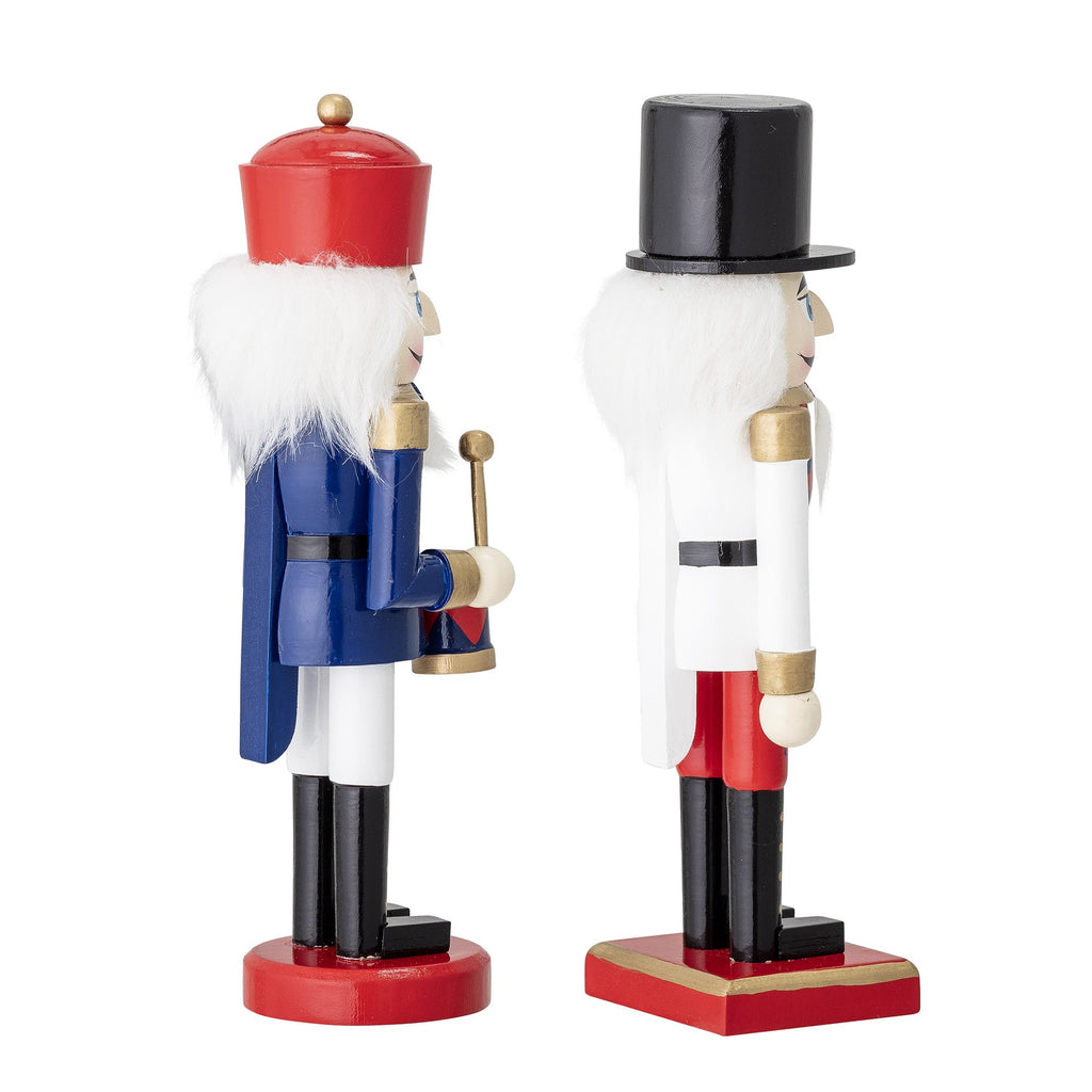 Nutrcracker Christmas Ornaments - Set of Two