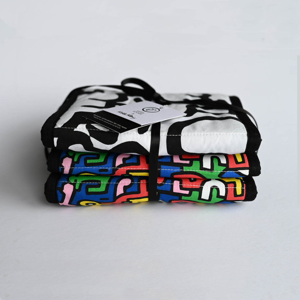 Etta Loves X Keith Haring Sensory Strip - Reversible