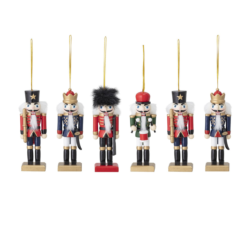 Few items can fill your home with Christmas magic quite like these traditional nutcracker decorations. Traditional xmas decorations from Scandi brand Bloomingville. Otis and the Wolf - bringing you Scandi style for little ones and the home