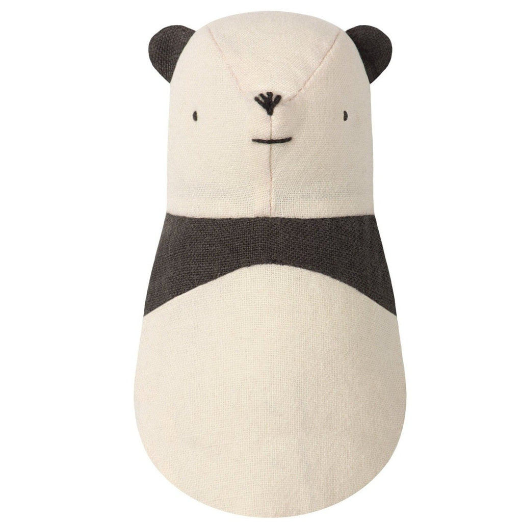 Panda Rattle from Maileg - a super-soft linen baby rattle. This rattle makes up Noah's friends collection and is available as a set of with an arc. Otis and the Wolf - bringing you Scandi style for children and the home