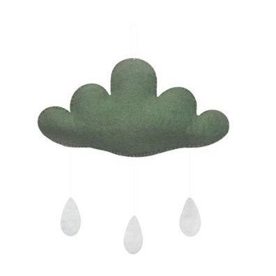 Cloud Mobile with Drops