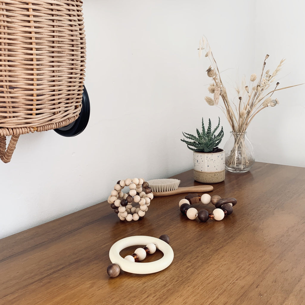 Touch Ring Amber - Heimess - Nature Range - Otis and the Wolf - Scandi style for little ones from toys and clothing to nursery decor and baby essentials