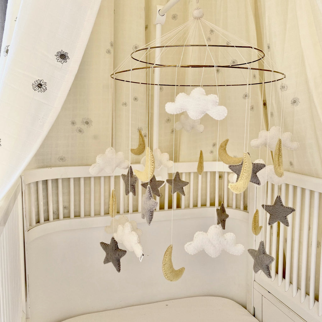 Large Night Sky Baby Mobile