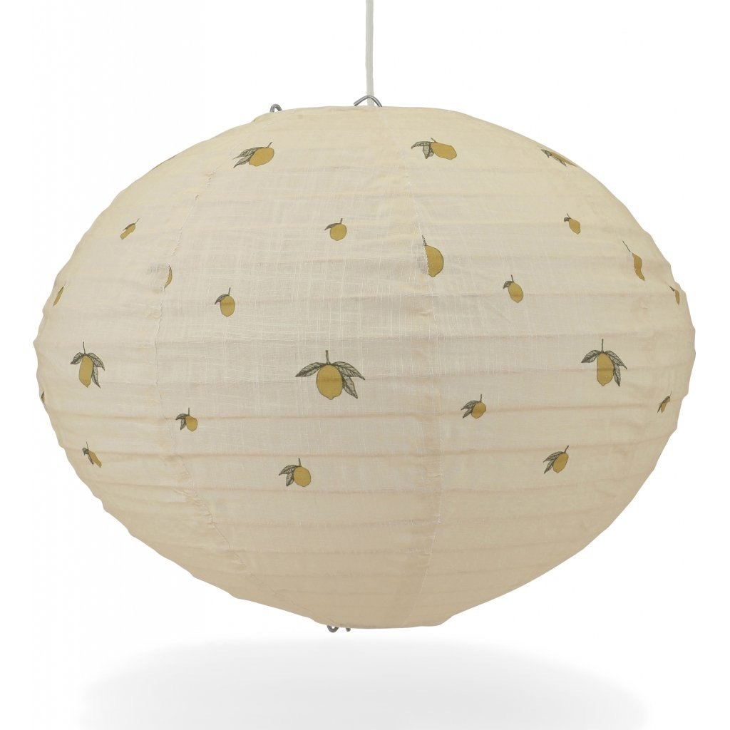 Big Pendant Lamp - Lemon