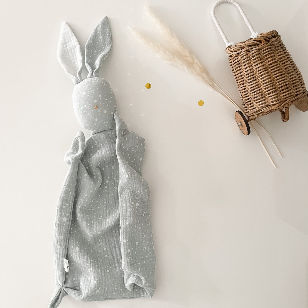 Muslin Bunny Comforter - Many Colours