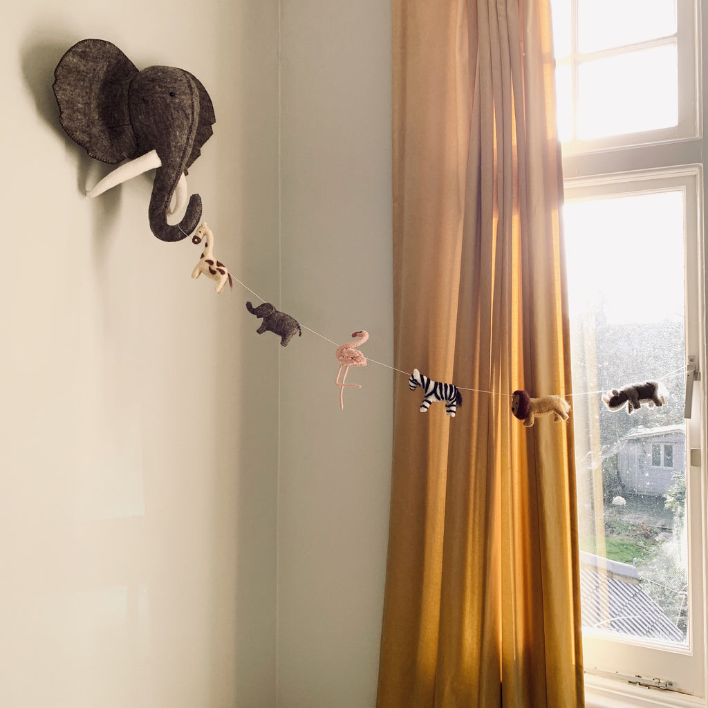 Wall Mount - Elephant