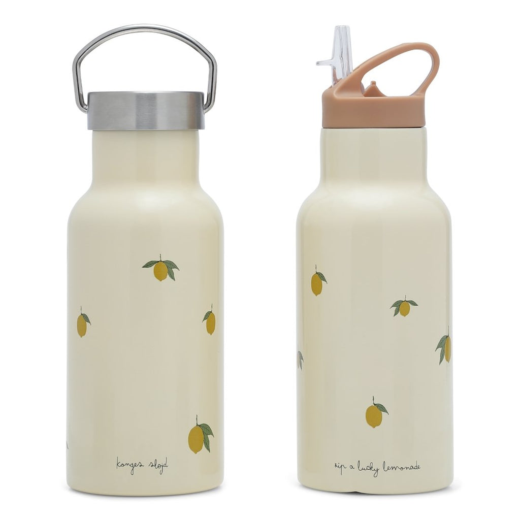 Konges Slojd Thermo Bottle - Lemon | PRE-ORDER