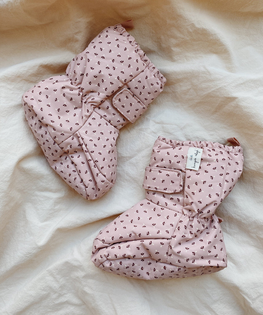 Baby Snow Boots - Tiny Clover Rose