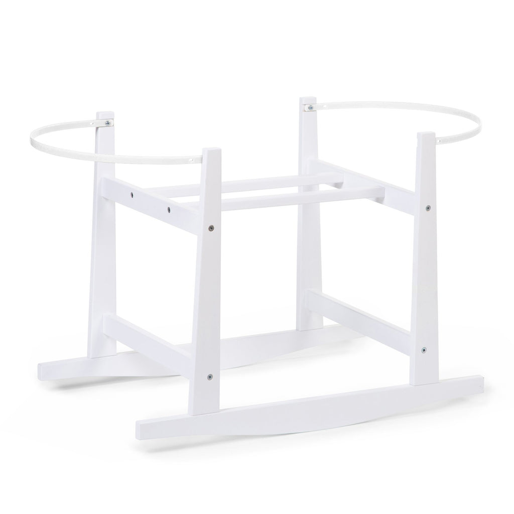 Rocking Stand For Moses Basket - White