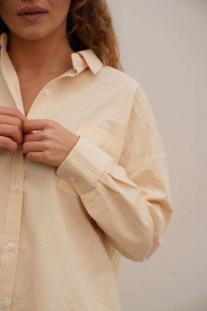 Mummy Shirt Strands Havet - Apricot