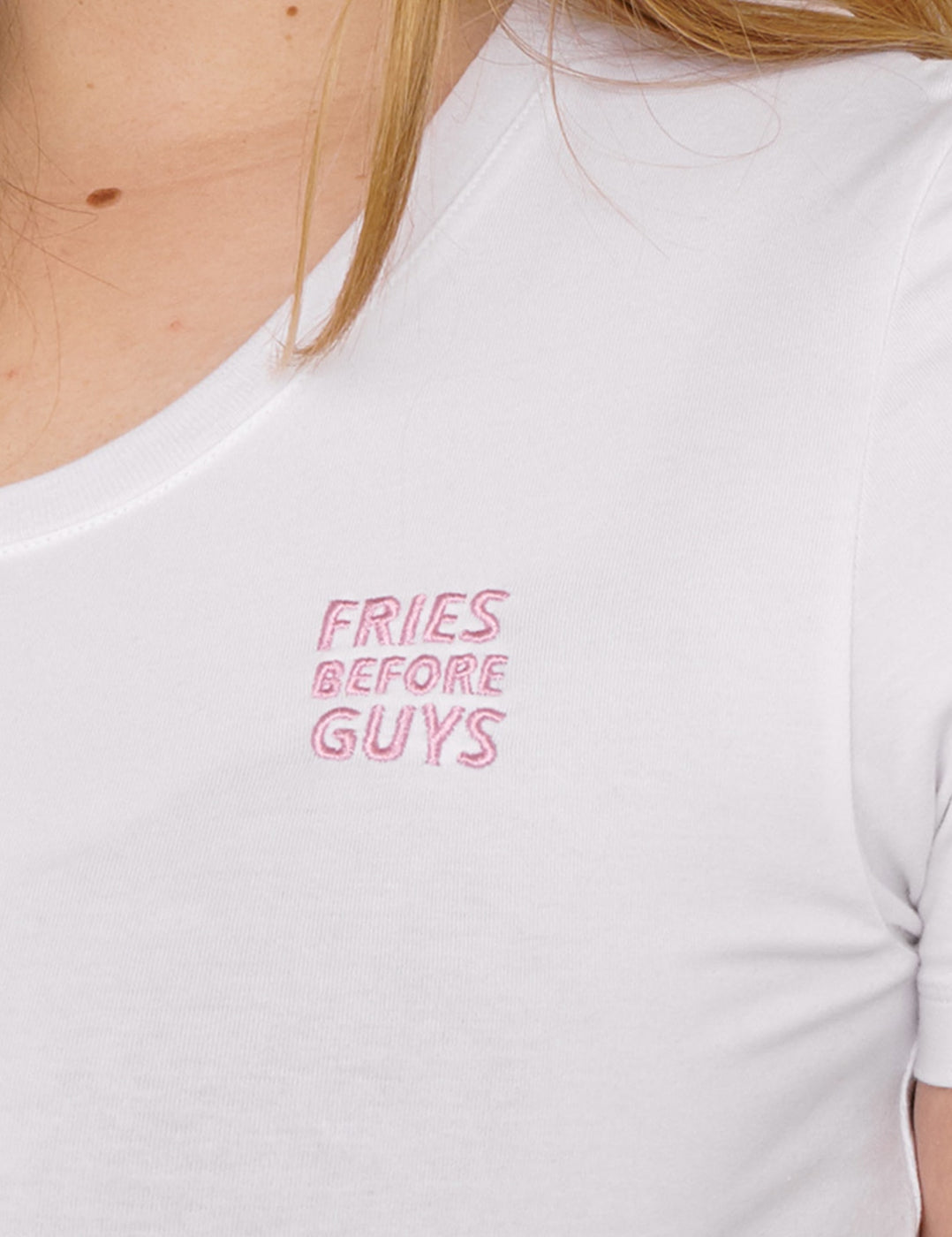 Organic Cotton Fries Logo Tee