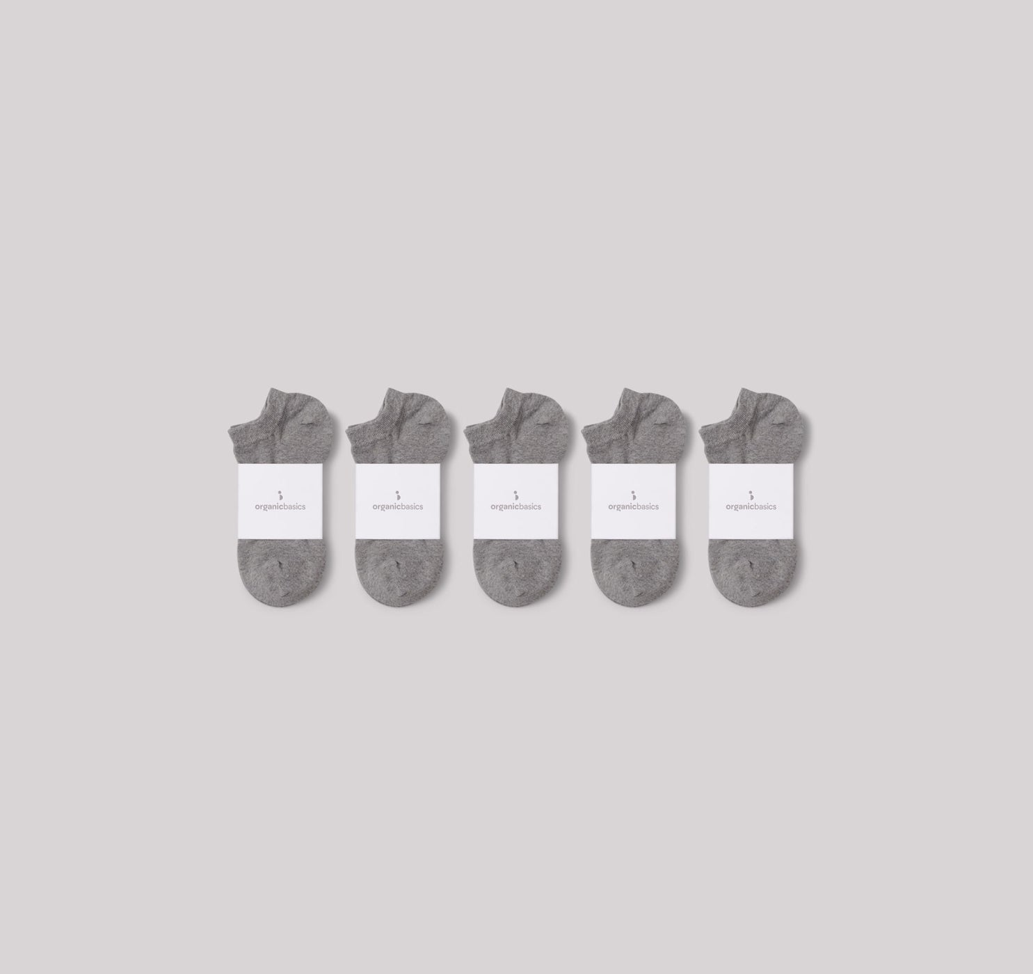 Organic Cotton Ankle Socks 10-pack