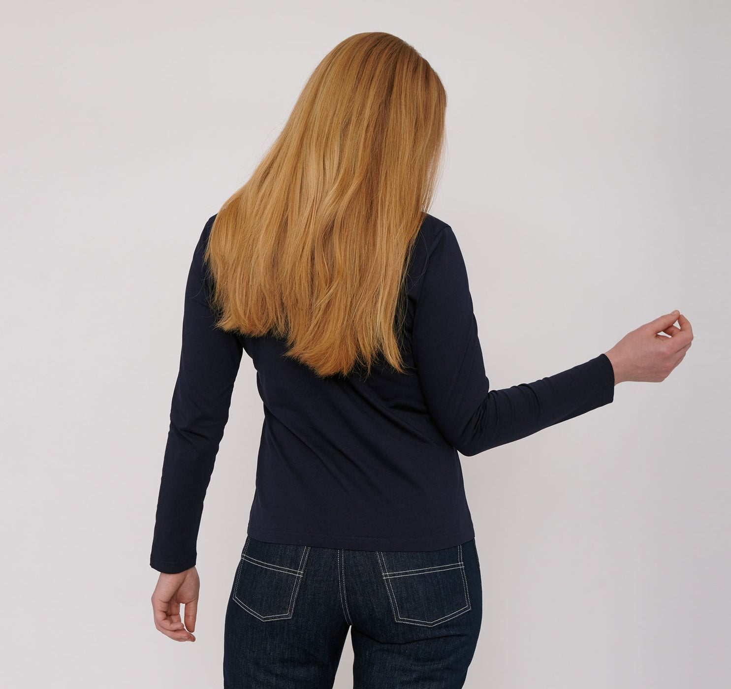 Organic Cotton Long-Sleeve Tee