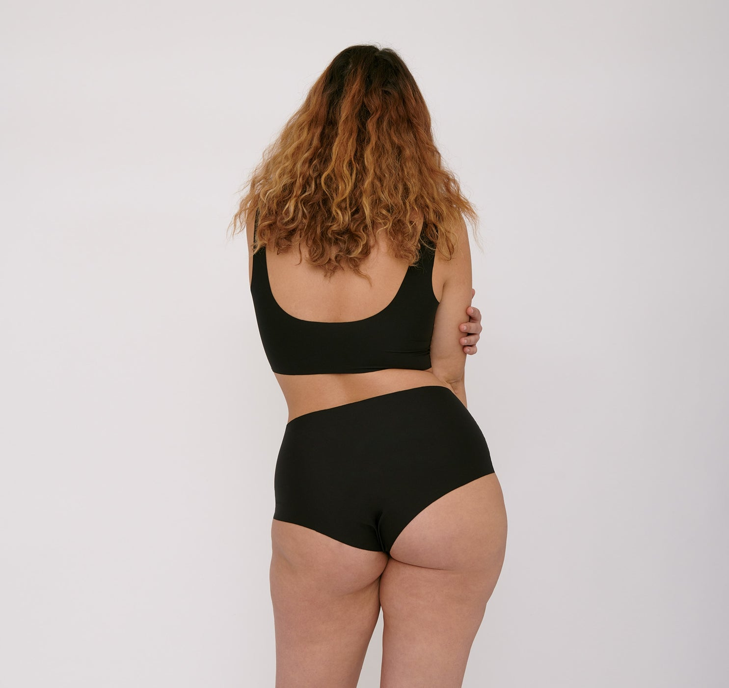 Invisible Cheeky Slips mit hohem Bund 2er-Pack