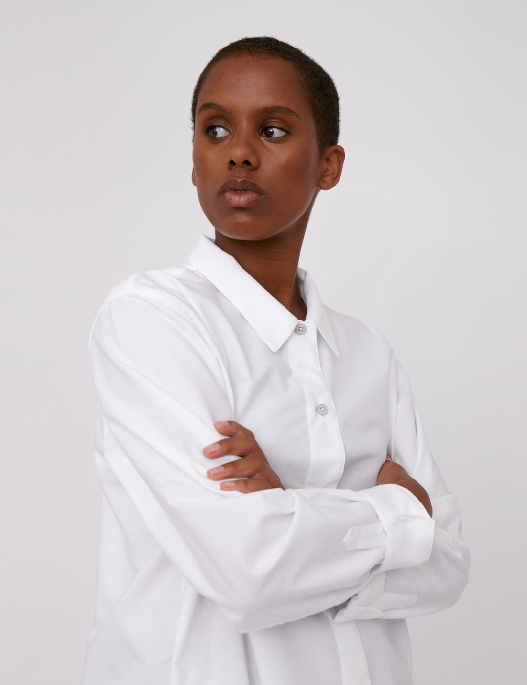 Organic Cotton Oxford Long Shirt