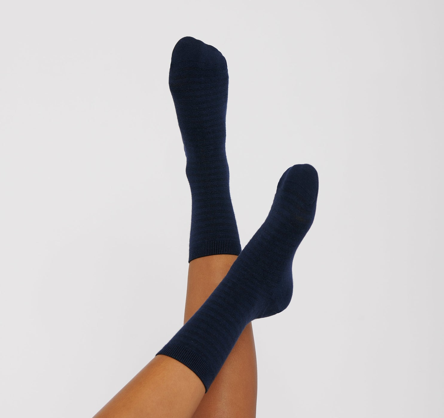 Organic Cotton Striped Socks 10-pack