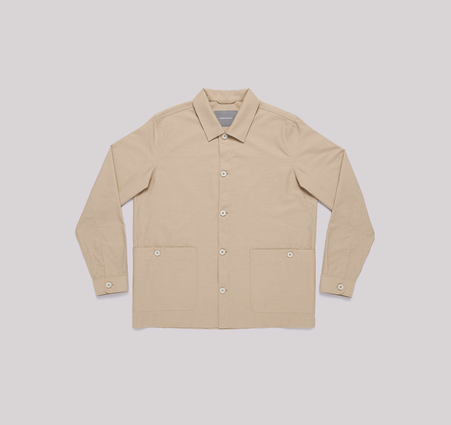 Organic Cotton Oxford Overshirt