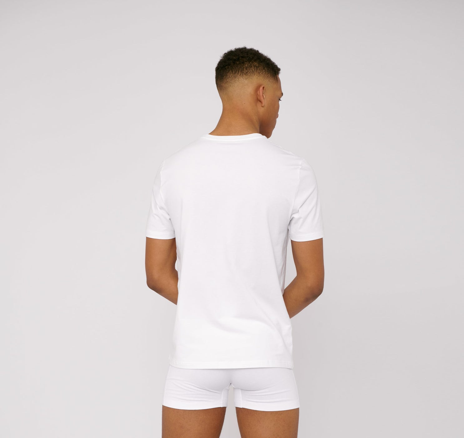 Bio-Baumwolle Stretch T-Shirt 3er-Pack