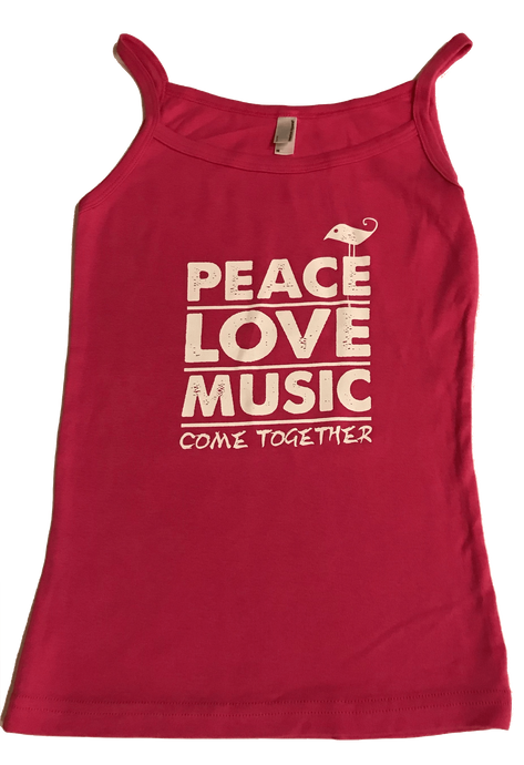 Peace, Love, Music Tank Top