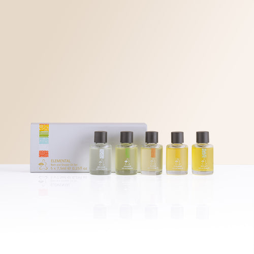Elemental Bath and Shower Oil Set