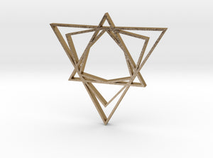 Arabesque: Love Triangle 3d printed