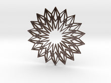 Load image into Gallery viewer, Arabesque: Sunflower 3d printed