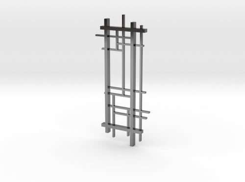 De Stijl: Composition No. 1 3d printed