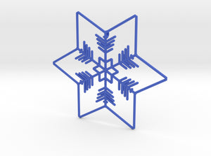 Snowflakes Series II: No. 1 3d printed