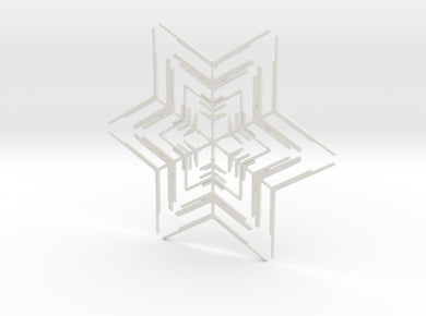 Snowflakes Series II: No. 2 3d printed