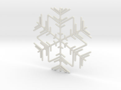 Snowflakes Series II: No. 3 3d printed