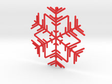 Load image into Gallery viewer, Snowflakes Series II: No. 3 3d printed