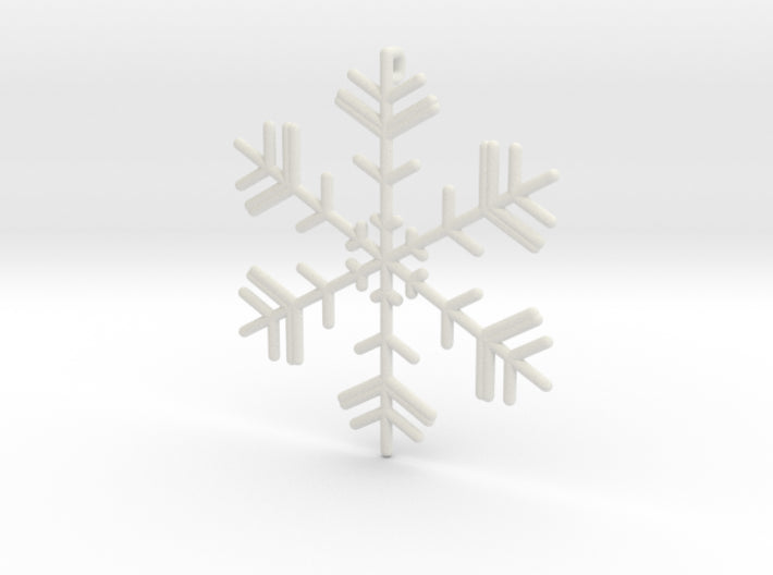 Snowflakes Series II: No. 4 3d printed