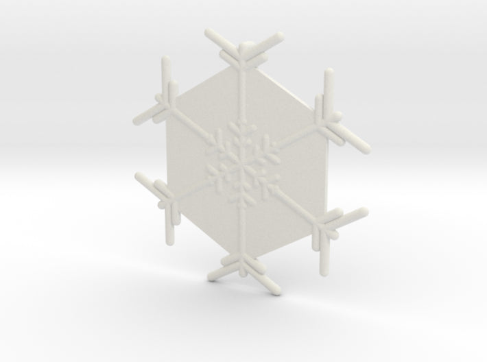 Snowflakes Series II: No. 5 3d printed