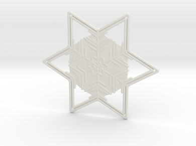 Snowflakes Series II: No. 6 3d printed