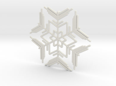 Snowflakes Series II: No. 7 3d printed