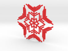 Load image into Gallery viewer, Snowflakes Series II: No. 7 3d printed