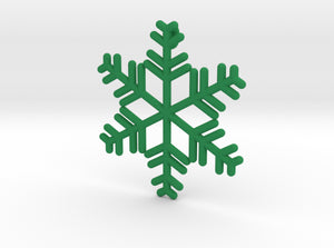 Snowflakes Series II: No. 8 3d printed