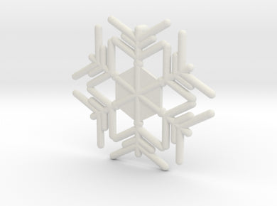 Snowflakes Series II: No. 9 3d printed
