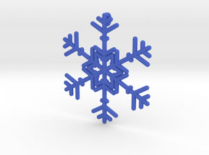 Snowflakes Series II: No. 10 3d printed