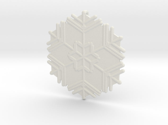 Snowflakes Series II: No. 11 3d printed