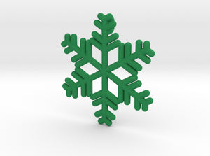Snowflakes Series II: No. 12 3d printed