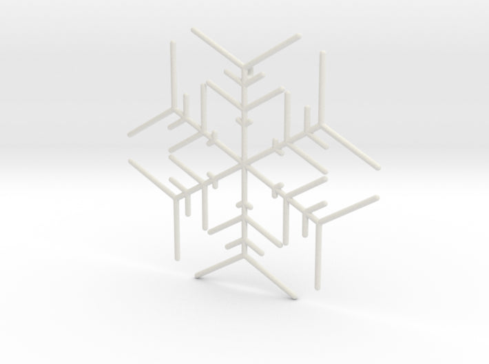 Snowflakes Series I: No. 5 3d printed