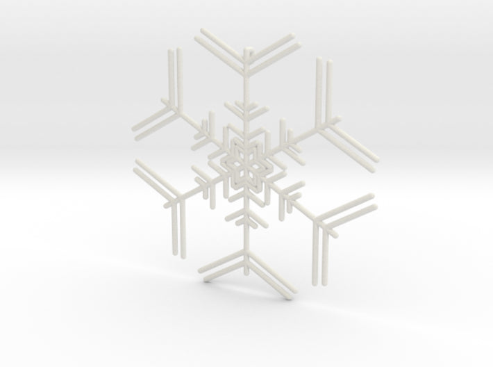 Snowflakes Series I: No. 7 3d printed