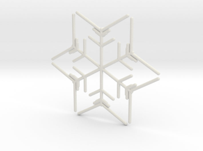 Snowflakes Series I: No. 9 3d printed