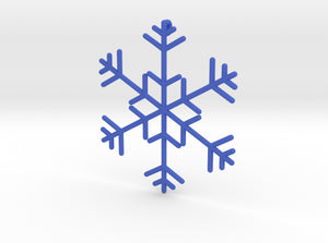 Snowflakes Series I: No. 11 3d printed