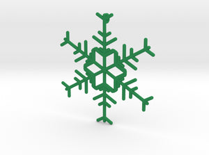 Snowflakes Series I: No. 12 3d printed