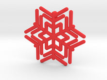 Load image into Gallery viewer, Snowflakes Series III: No. 12 3d printed