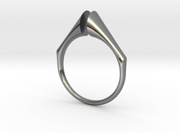Swept Away: Solitaire Gap 3d printed